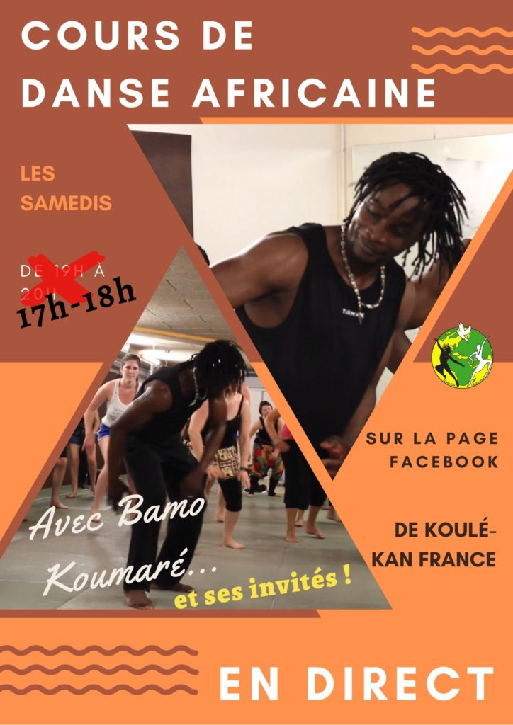flyer cours en direct